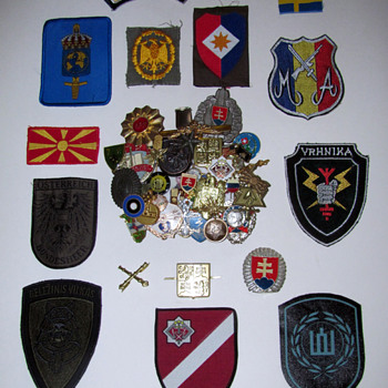 Former Soviet Union and Allied Countries Pins & Patches - Military and Wartime