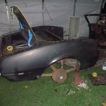 1968 Camaro Convertible restoration - Classic Cars