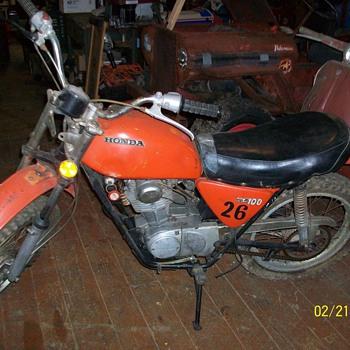 1970 Honda SL 100