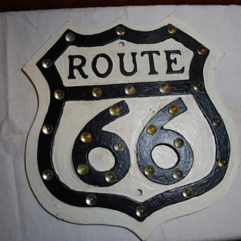 Route 66 sign - Signs