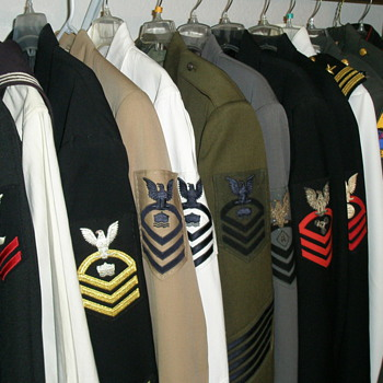 My Collection of Military Uniforms