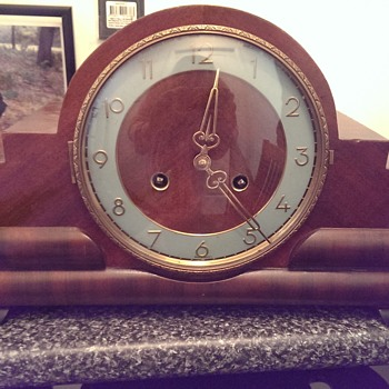 old german made clock? - Clocks