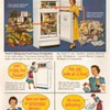 1951 - General Electric Refrigerator Advertisement