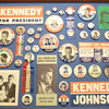 Some of my Kennedy buttons & stuff.
