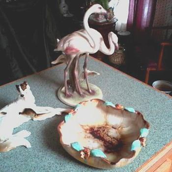 """Wein """"Keramos"""" Wolf & Sons Co."""" Wilhelm Thomasch"""" Sierndorf Austrian Ceramics Cache / Circa 1920-1950's - Figurines"""