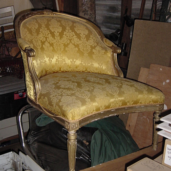 18th century French Duchess chair??? - Furniture