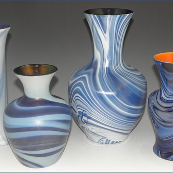 Imperial Lead Lustre Vases - Imperial Glass Company, Bellaire, Ohio, 1925-26