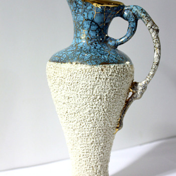 Beautiful Old Unmarked Pitcher! - Art Pottery