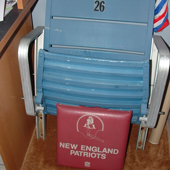 Foxboro Stadium Blue Section Seat - Football