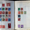 My mother's stamp collection