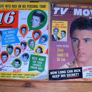 Old Movie Star magazines 1959