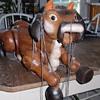 Cow Puppet Wooden
