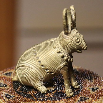 More Metal Wire Animals from Orissa, India - Asian