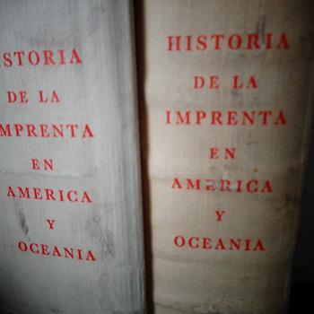 Historia de la imprenta en América y Oceanía