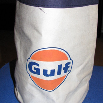GULF GAS/YANKEES TOTE BAG - Petroliana