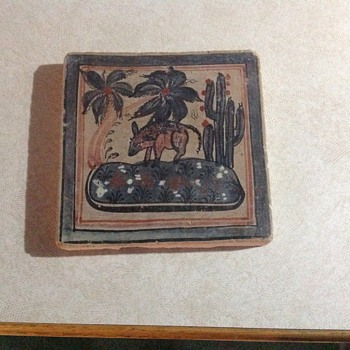 Antique southwestern trivet - Kitchen