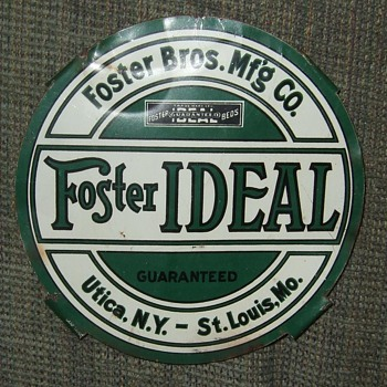 Small Foster's Beds Sign