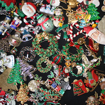 Happy Holidays...  - Costume Jewelry