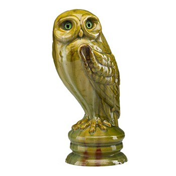 Emile Galle Owl, 1889 Exposition Universelle
