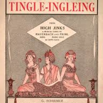 """FUNNY SONG TITLE-""""-SOMETHING SEEMS A TINGLE-INGLEING""""! - Music Memorabilia"""