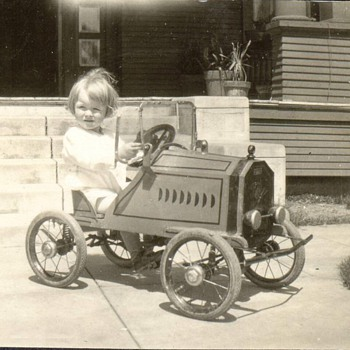 My uncle Chuck 1923 - Model Cars