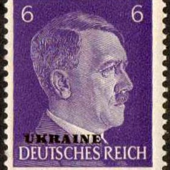 1943 - German (Occupation of Ukraine) Postage Stamps