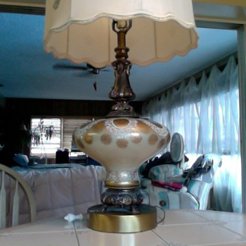 Antique Ram Lamp????