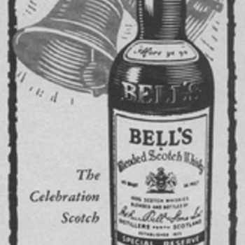 1955 Bell&#039;s Scotch Advertisement