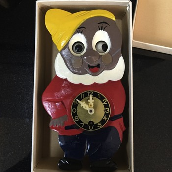 Vintage Walt Disney Productions clock