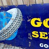 Goodyear Porcelain Signs