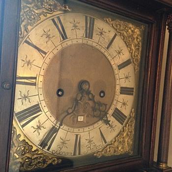 Benoni Bullen Grandmother Clock - Clocks