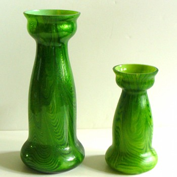 UPDATE: CZECH TRADED VASES. - Art Glass