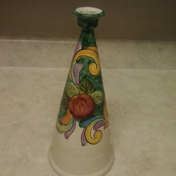  VIETRI SUL MARE CANDLESTICK VASE
