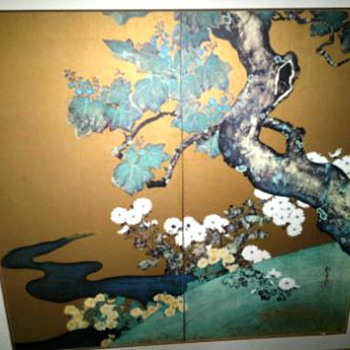 Large Japanese WallHanging - Asian