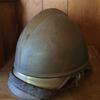 Vintage Brass German Firefighter Helmet