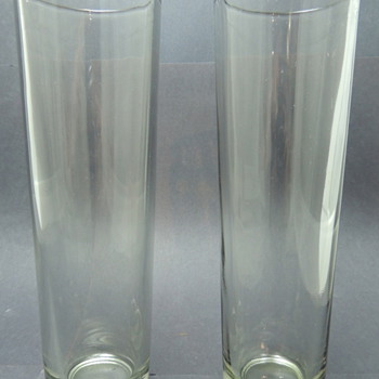 Tall Thin Glasses - Please Help ID!