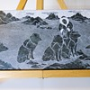 Soapstone Plate Carving,SIKU, 20 century