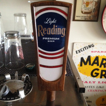 Reading Premium Beer Tap Handle