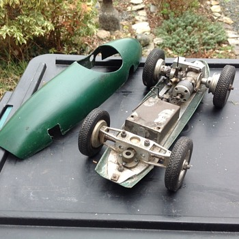 One off Scalextric car ( aero engine ) - Model Cars