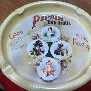 Pepsin Tutti-Frutti Ashtray