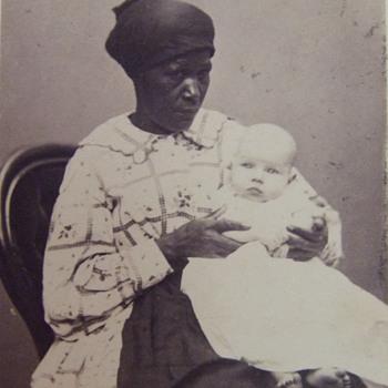 African American Mammy/ Nanny cdv