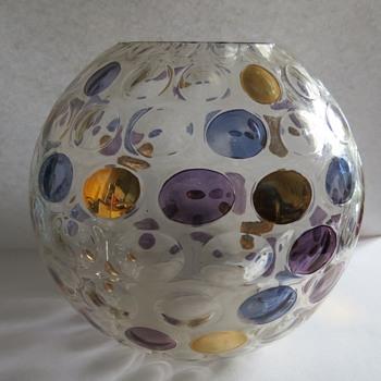 Art Glass Borske Sklo Nemo design vase