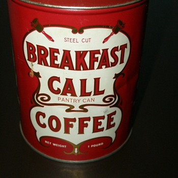 Breakfast Call Coffee Pantry Can