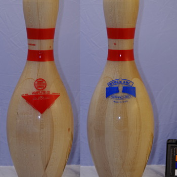 AMF Clear Plastic Coated Tenpin Bowling Pin - Sporting Goods