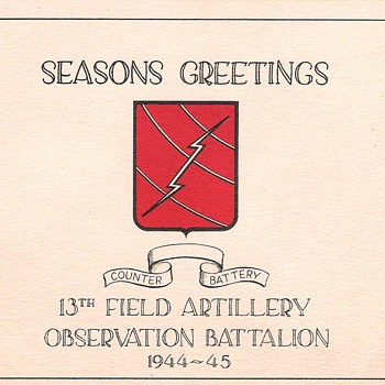 military christmas card - Cards