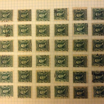 Early 1900 Stamps