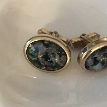 Cufflinks - does anyone know what (or if) the stone is?