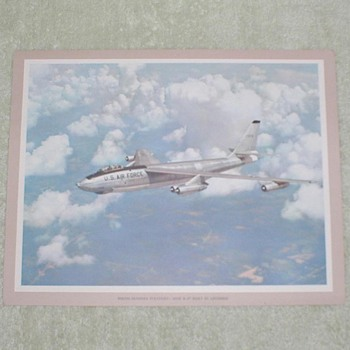Lockheed Stratojet Airplane Print