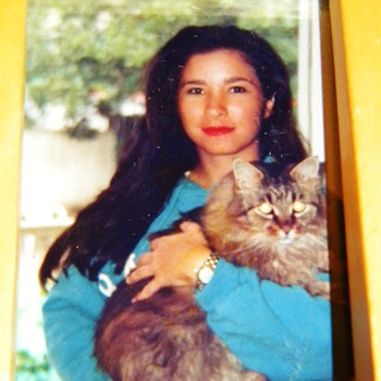 "My First Kitty Maine Coon ""Casey"" I was 19 Years Old!"