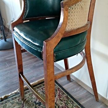 Antique Billiard Spectator Chair? - Furniture